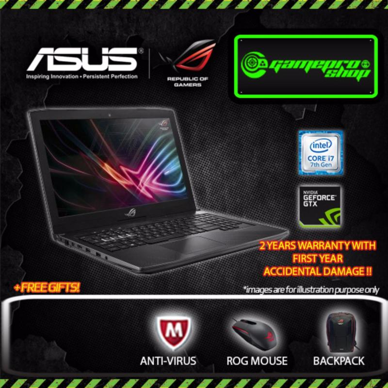 Asus ROG Strix GL503VM Gaming Laptop i7-7700HQ (GTX1060) with 120Hz