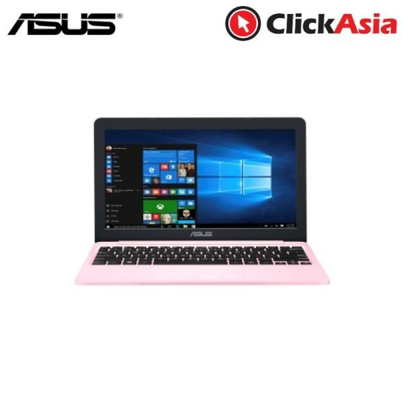 "Asus VivoBook E12 (E203NA-FD043TS) - 11.6""/Celeron N3350/4GB DDR3/32GB eMMC/Intel/Win10 (Pink)"