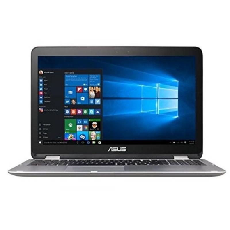 "Asus VivoBook Flip Convertible 15.6"" Touchscreen Laptop, Intel Core i3-6100U 2.3GHz, 4GB DDR4, 128GB SSD, Bluetooth, Windows 10 Home - intl"