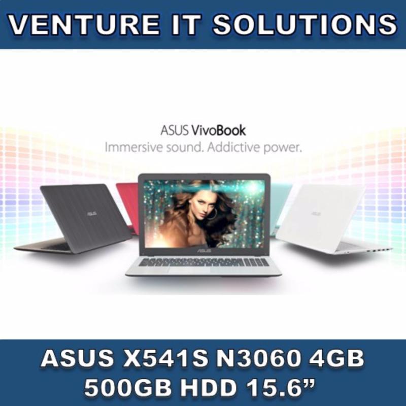 ASUS X541S-AXX346T / INTEL CELERONN3060 1.6GHZ MAX 2.48GHZ / 4GB RAM / 500GB HDD / INTEL HD GRAPHICS / 15.6LED HD DISPLAY / WINDOWS 10(Red)