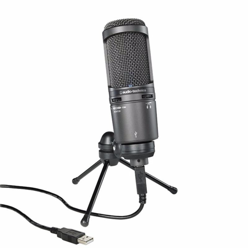 AUDIO TECHNICA AT2020 USB+ Cardioid Condenser USB Microphone Singapore