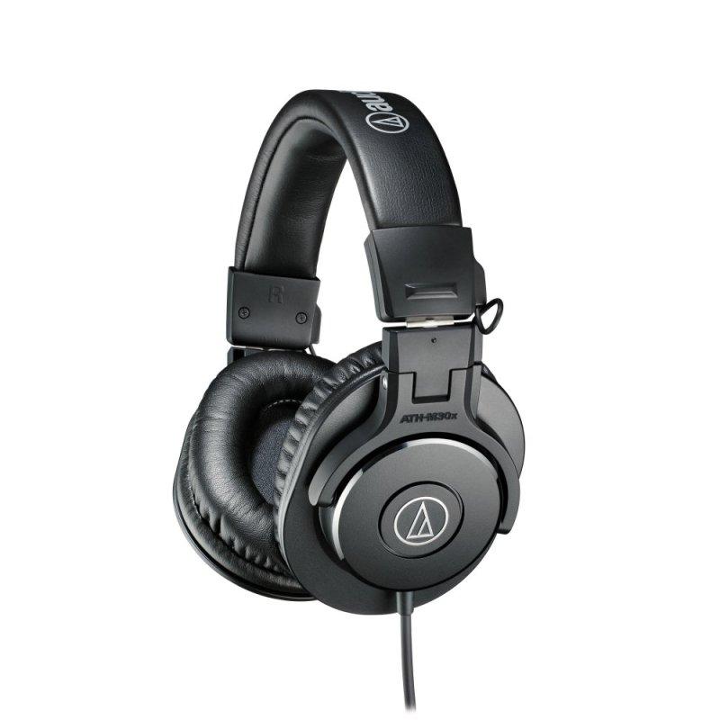 Audio-Technica ATH-M30x Over-The-Ear Headphones (Black) Singapore