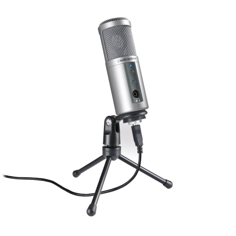 Audio-Technica ATR2500-USB Cardioid Condenser USB Microphone Singapore