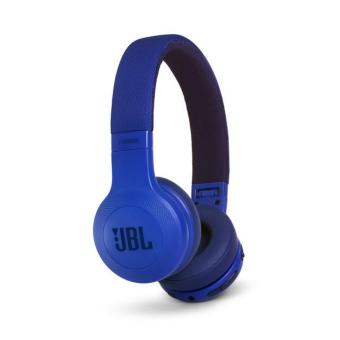 Authentic JBL E45BT Bluetooth On-Ear Headphones (Blue)