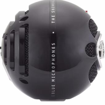 Blue Microphones Snowball iCE USB Microphone Glossy Black With Free Black Screen - 3