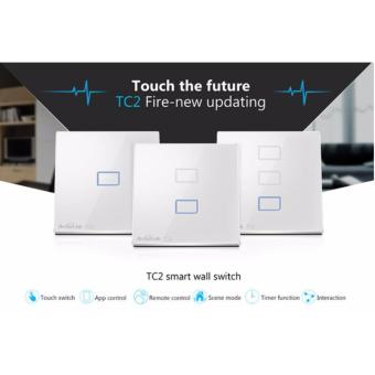 Broadlink TC2 Touch Panel Wall Switch - 3