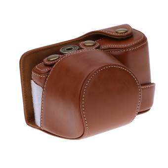 Camera Bag Case Cover Pouch for Sony A6000 NEX-6 Camera Brown - 3