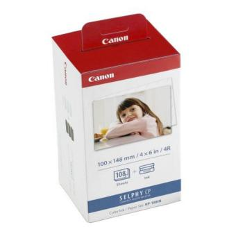 Canon 4R Paper For Selphy Cp Series KP-108IN (108Sheets) - intl