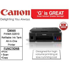 Canon PIXMA G2010 Refillable Ink Tank All-In-One Printer Singapore