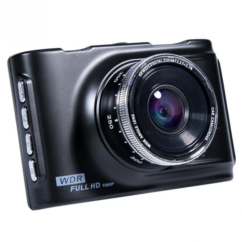 Car Cameras HD Car DVR Car Camera Video Recorder Dash Cam Camcorder (Black)