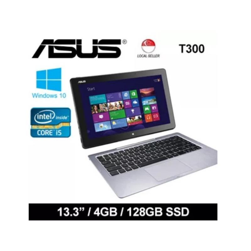 [Certified Refurbished] Asus T300 13.3 Intel i5-4200U 4GB RAM 128GB SSD Windows 8 Laptop (Black)