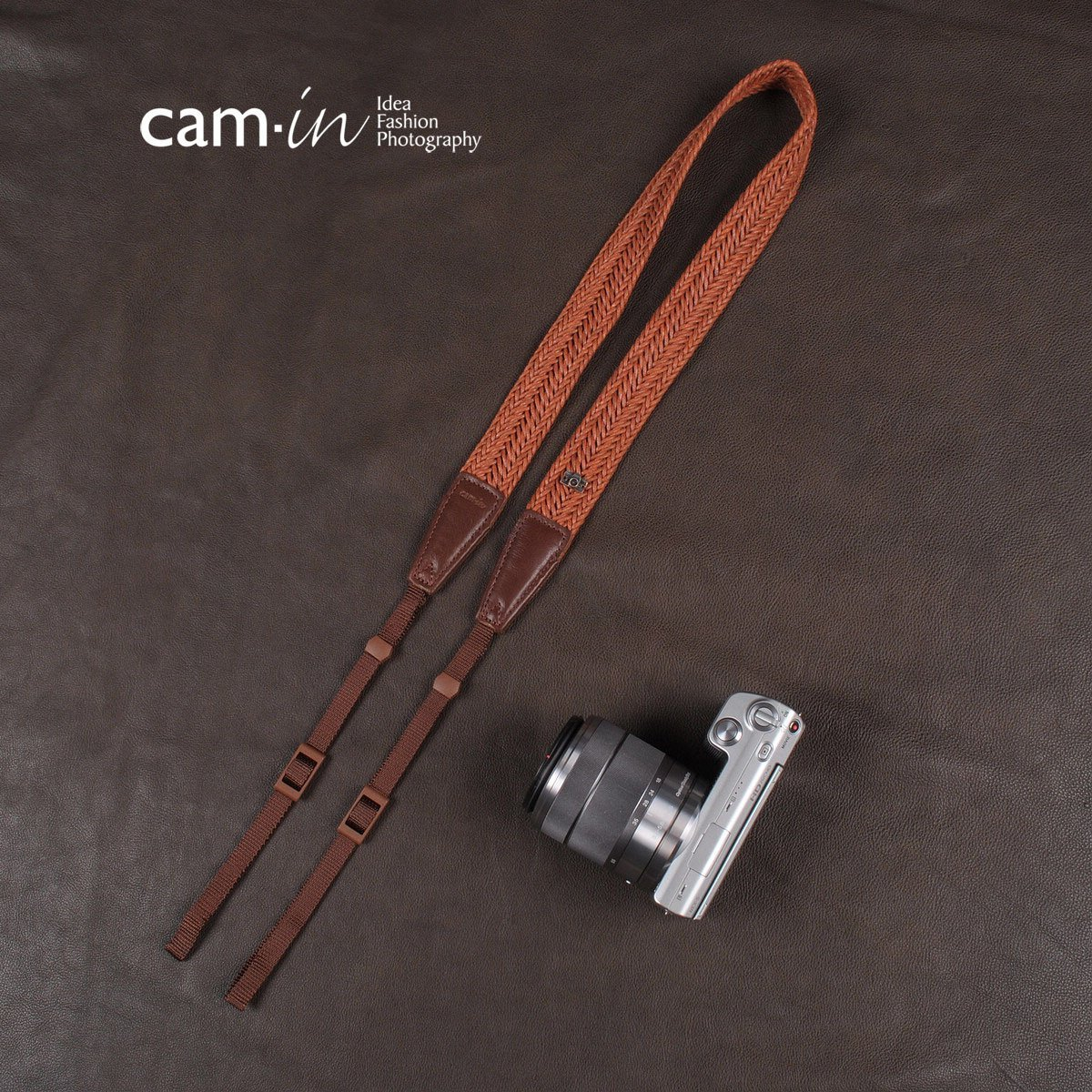 Classic cam8762 woven SLR camera shoulder strap