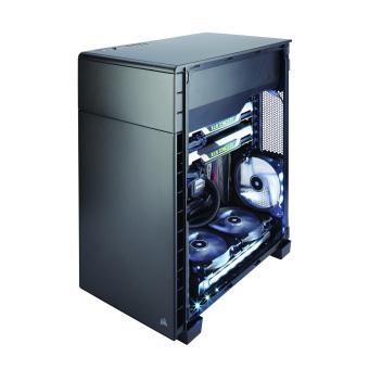 Corsair Carbide Series Clear 600C Inverse ATX Full-Tower Case - 4