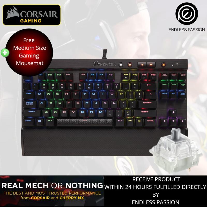 Corsair Gaming K65 RGB RAPIDFIRE Mechanical Gaming Keyboard - Cherry MX Speed RGB Singapore