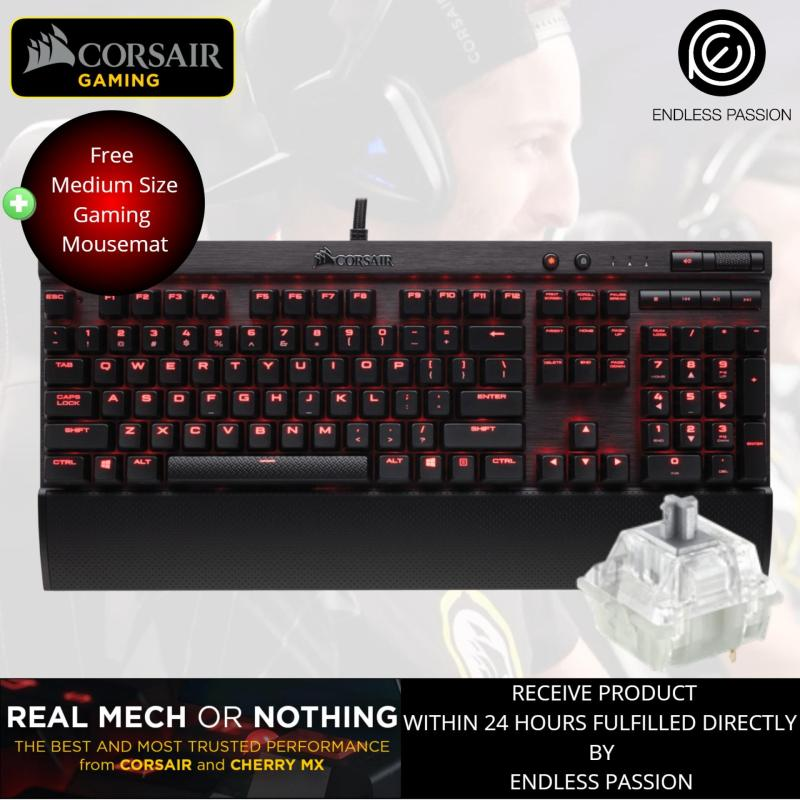 Corsair K70 RAPIDFIRE Mechanical Gaming Keyboard Cherry MX Speed Singapore