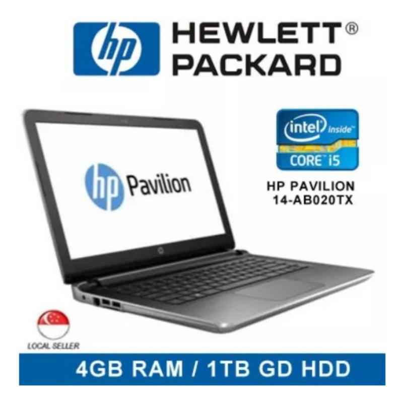 [Demo Set] HP Pavilion 14-ab020tx Intel Core i5 4GB RAM 1TB GB HDD Windows 7 Notebook Laptop (Silver)