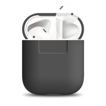Harga Elago AirPods Silicone Case (Dark grey)