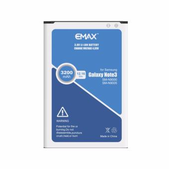 Harga eMax Battery B800BE 3200mAh for Samsung Galaxy Note 3 N9000