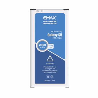 Harga eMax Battery EB-BG900BBE 2800mAh for Samsung Galaxy S5 G900I
