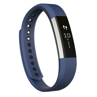 Fitbit Alta Fitness Tracker Wristband Watch (Blue Large)