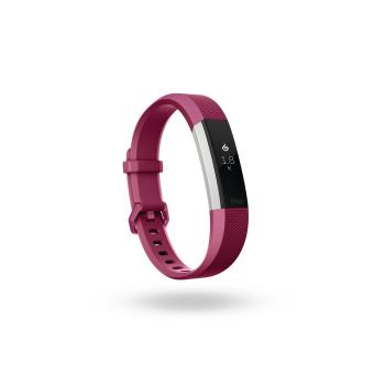 Fitbit Alta HR - Heart Rate + Fitness Wristband - Fuchsia / Large