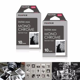 Fujifilm Instax Mini Film - Monochrome Twin Pack Expiry Dec 18