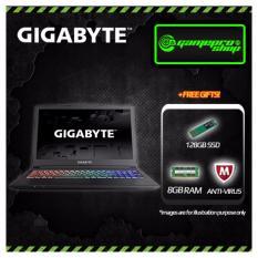 Gigabyte Sabre 15 P45K 7th Gen i7-7700HQ GTX1050Ti Gaming Laptop  *CNY PROMO*