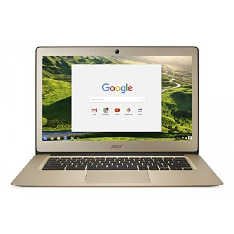 GPL/ Acer Chromebook 14, Aluminum, 14-inch Full HD, Intel Celeron N3160, 4GB LPDDR3, 32GB, Chrome, Gold, CB3-431-C0AK/ship from USA - intl