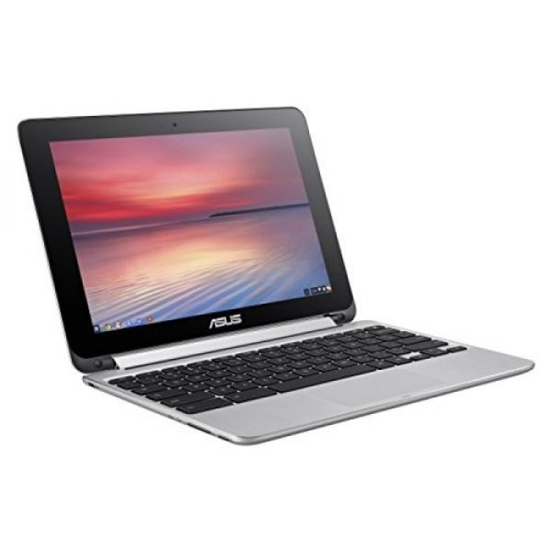 GPL/ ASUS Flip 2-in-1 C100PA-DS03 10.1-inch Touch Chromebook , Silver/ship from USA - intl