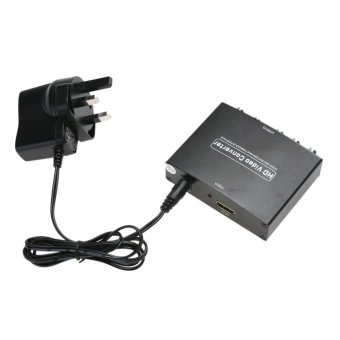 HDMI to 5RCA RGB Component YPbPr Video +R/L Audio Converter (UKPlug) - intl