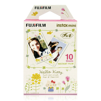 Hello Kitty Illustratioin Fujifilm Instax Film (10 sheets)