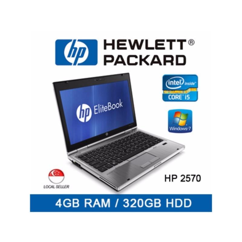 HP Elitebook 2570 / 12.5 Inch / Intel Core i5  4GB RAM / 320GB HDD /  Windows 7 / Euro Keyboard / One Month Warranty