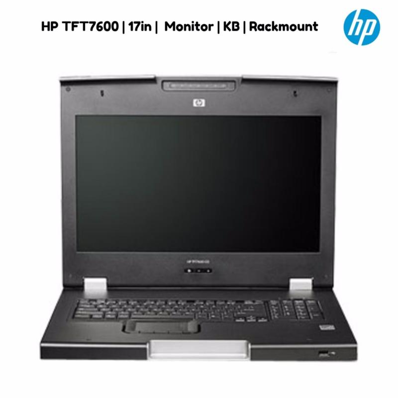HP TFT7600 17in Monitor/KB Rackmount    full 17 inch WXGA+ monitor and keyboard with touch pad