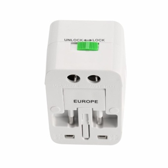BSTUO All in One Universal International Plug Adapter w/ Dual USB 1A - intl - 4