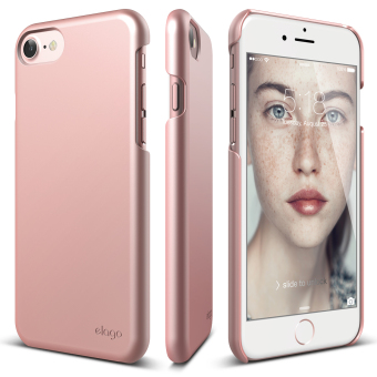 Harga Elago Slim Fit 2 Case for iPhone 7 (4.7inch) Rose Gold + Front Protection Film included
