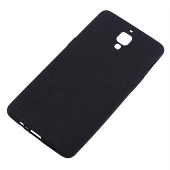 Ultra-Thin Shockproof Cover Silicone Flexible TPU Matte Soft Phone Case For Oneplus 3/3T Black - intl(Black)