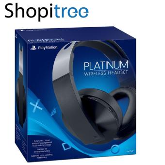 Harga PlayStation Platinum Wireless Headset for PS4 & VR