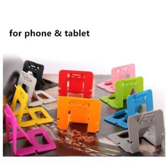 Harga Songe 5Pcs Colorful Portable Foldable Stand Holder for Smartphone Tablet - intl