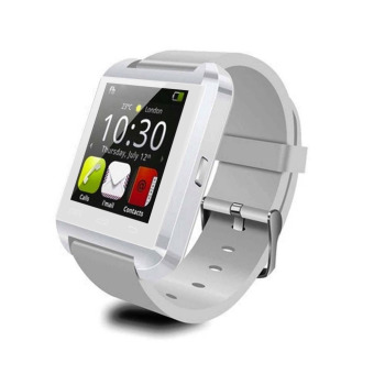 Harga U8 Bluetooth Smart Watch Waterproof 3S for Samsung iPhone White US Plug (EXPORT)