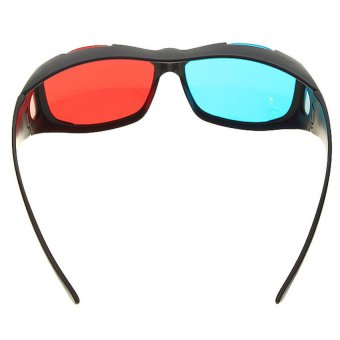 Anaglyphic Blue Red 3D Glasses - 2