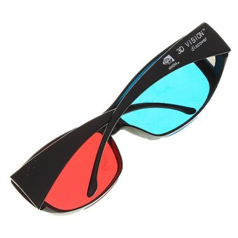 Anaglyphic Blue Red 3D Glasses - 3