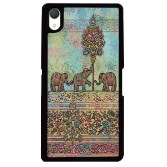 Harga Y&M Tribal Elephant Sony Xperia Z3 Phone Cover (Multicolor)