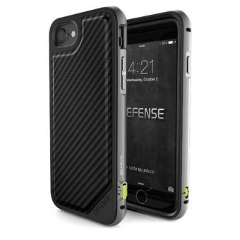 Harga X-Doria case for iPhone 7 Plus Defense Lux Case Black Carbon