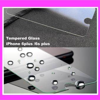 Harga Tempered Glass For iPhone 6plus / 6s plus ( clear )
