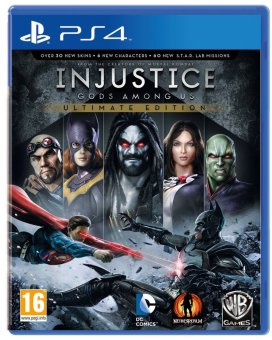 Harga PS4 Injustice: Gods Among Us Ultimate Edition