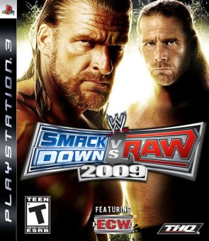 Harga PS3 WWE Smack Down Vs Raw 2009