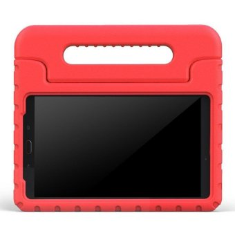 CLOUDSEA Samsung Galaxy Tab A 7.0 inch Kids Case - EVA ShockProof Cover Handle Stand Case for Kids Children for Samsung Galaxy TabA 7-inch Tablet 2016 Release(SM-T280 / SM-T285 Version ONLY) - Red - intl