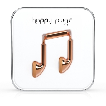 Harga Happy Plugs Earbud Rose Gold