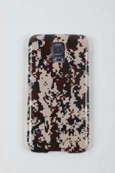 Harga icover Galaxy S5 Camo Brown