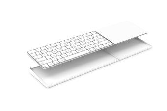 Spinido - BESTAND for Magic Trackpad 2(MJ2R2LL/A) and Apple latest Magic Keyboard(MLA22LL/A) (white) - Intl